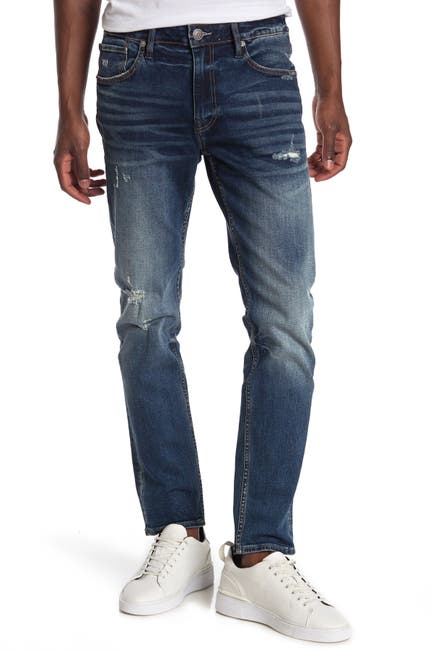 Image of Vigoss Keith Medium Wash Distressed Jeans