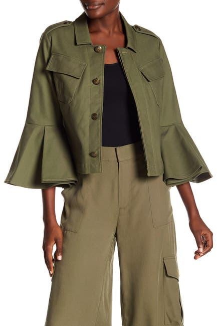 Image of RACHEL Rachel Roy Utility 3/4 Sleeve Jacket