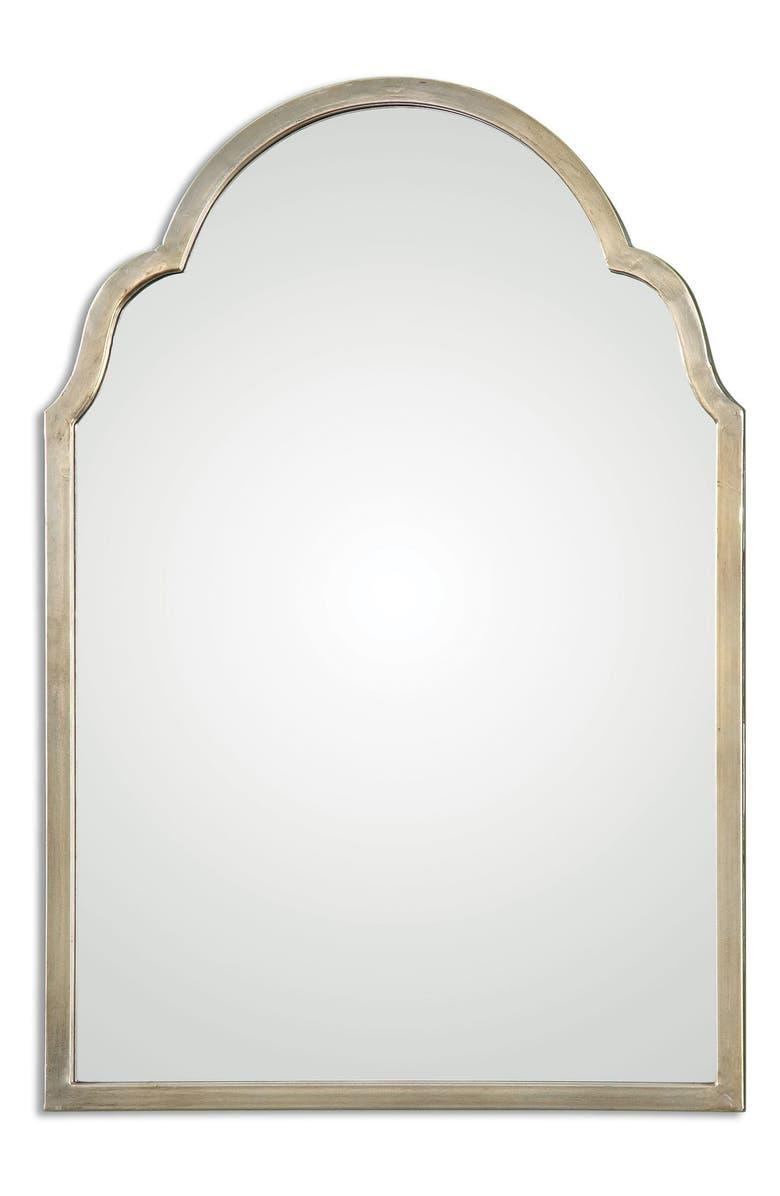 UTTERMOST Brayden Small Arch Mirror, Main, color, 040