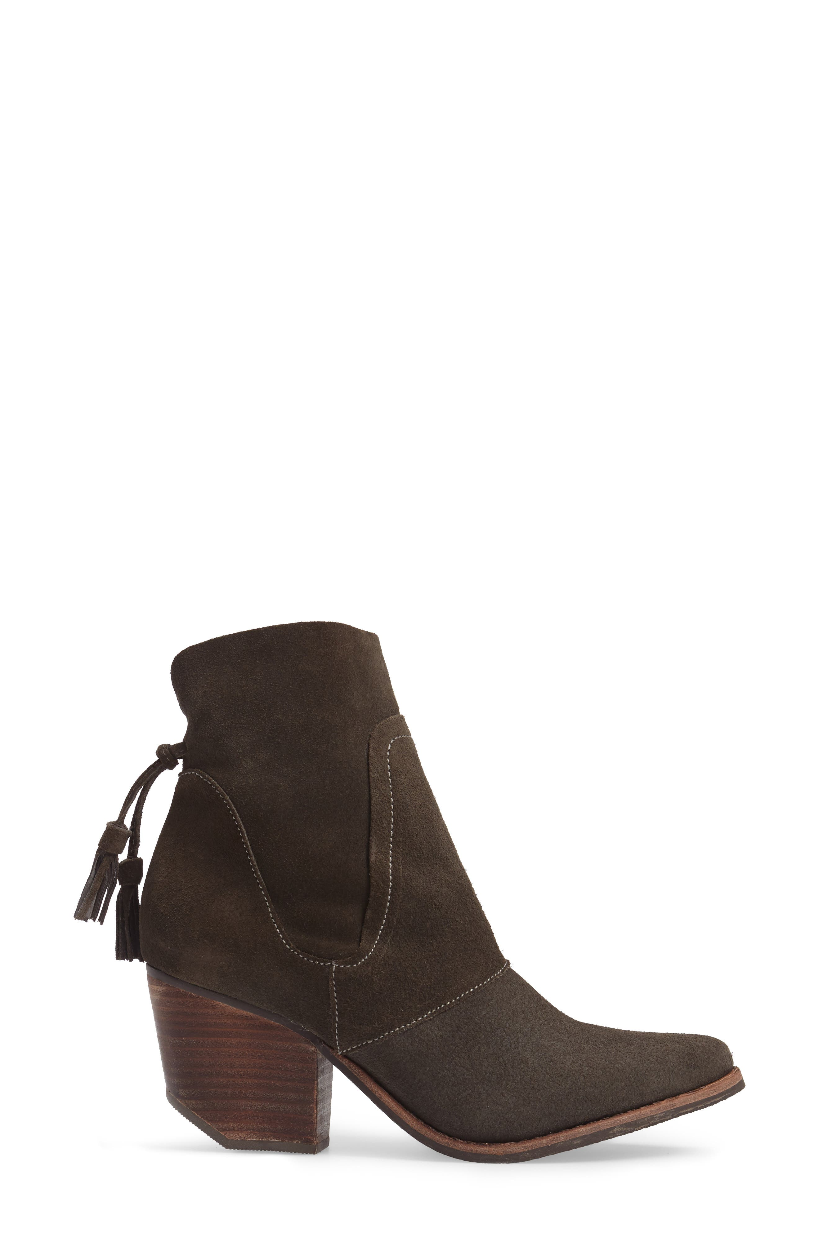 ,                             Laney Notched Heel Bootie,                             Alternate thumbnail 3, color,                             020