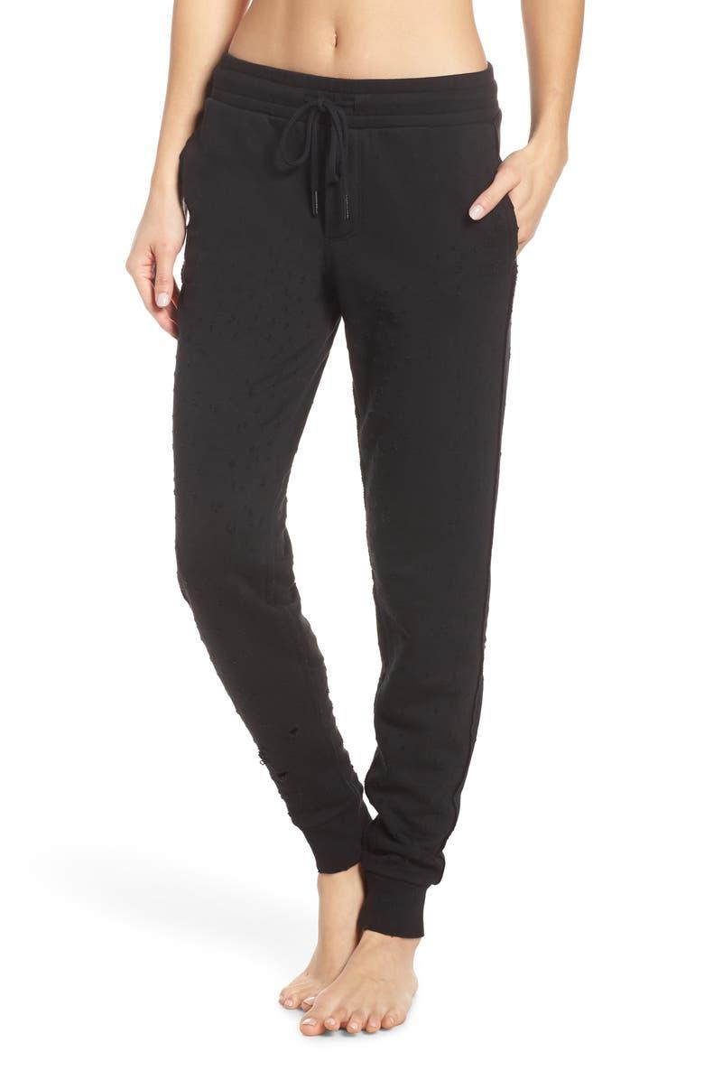 ALO Fierce Sweatpants, Main, color, 001