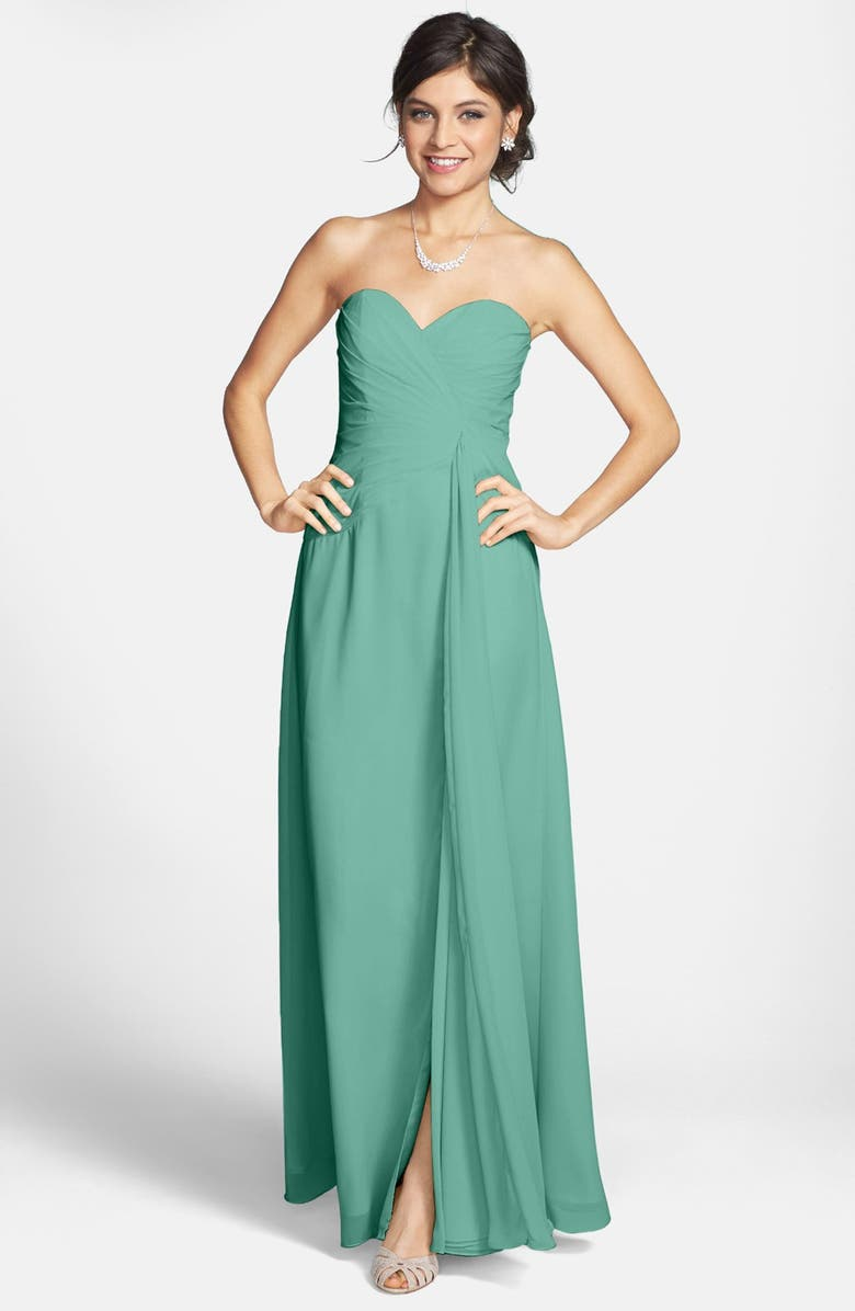 1c9e62bff2ab Faviana Sweetheart Chiffon Gown (Online Only) | Nordstrom