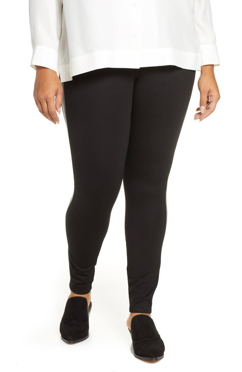 LYSSÉ Kent Leggings, Main, color, BLACK