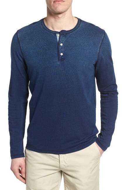 Image of AG Clyde Long Sleeve Slim Fit Henley