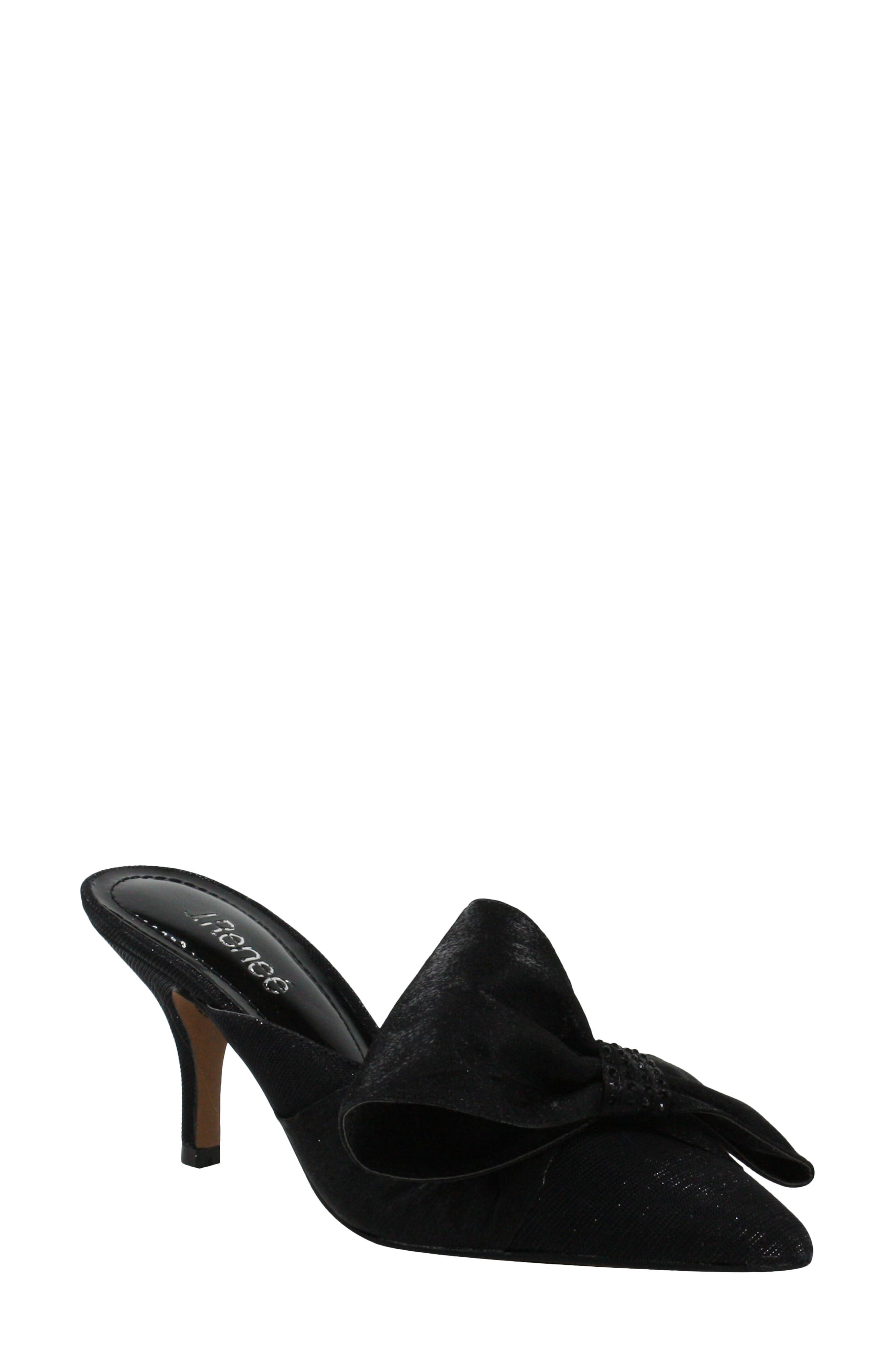Elonna Bow Pointed Toe Mule