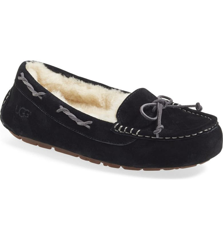 UGG<SUP>®</SUP> Australia 'Tate' Slipper, Main, color, 001