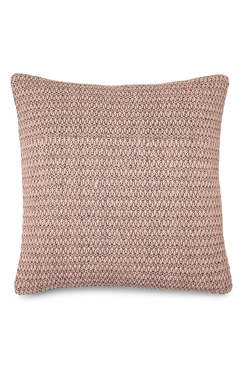 CALVIN KLEIN HOME Mia Accent Pillow, Main, color, ROSE/ BLACK
