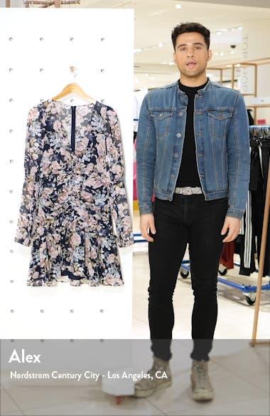 Long Sleeve Floral Minidress, sales video thumbnail
