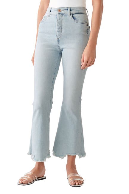 Image of DL1961 Rachel Cropped High Rise Jeans