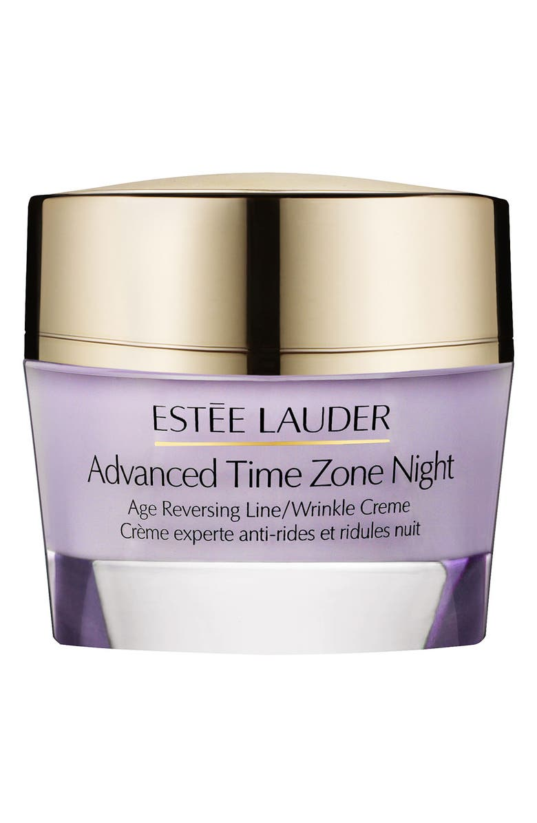 ESTÉE LAUDER Advanced Time Zone Night Age Reversing Line/Wrinkle Creme, Main, color, NO COLOR