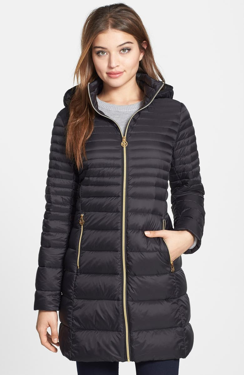 official sale purchase cheap cost charm Packable Hooded Down Coat
