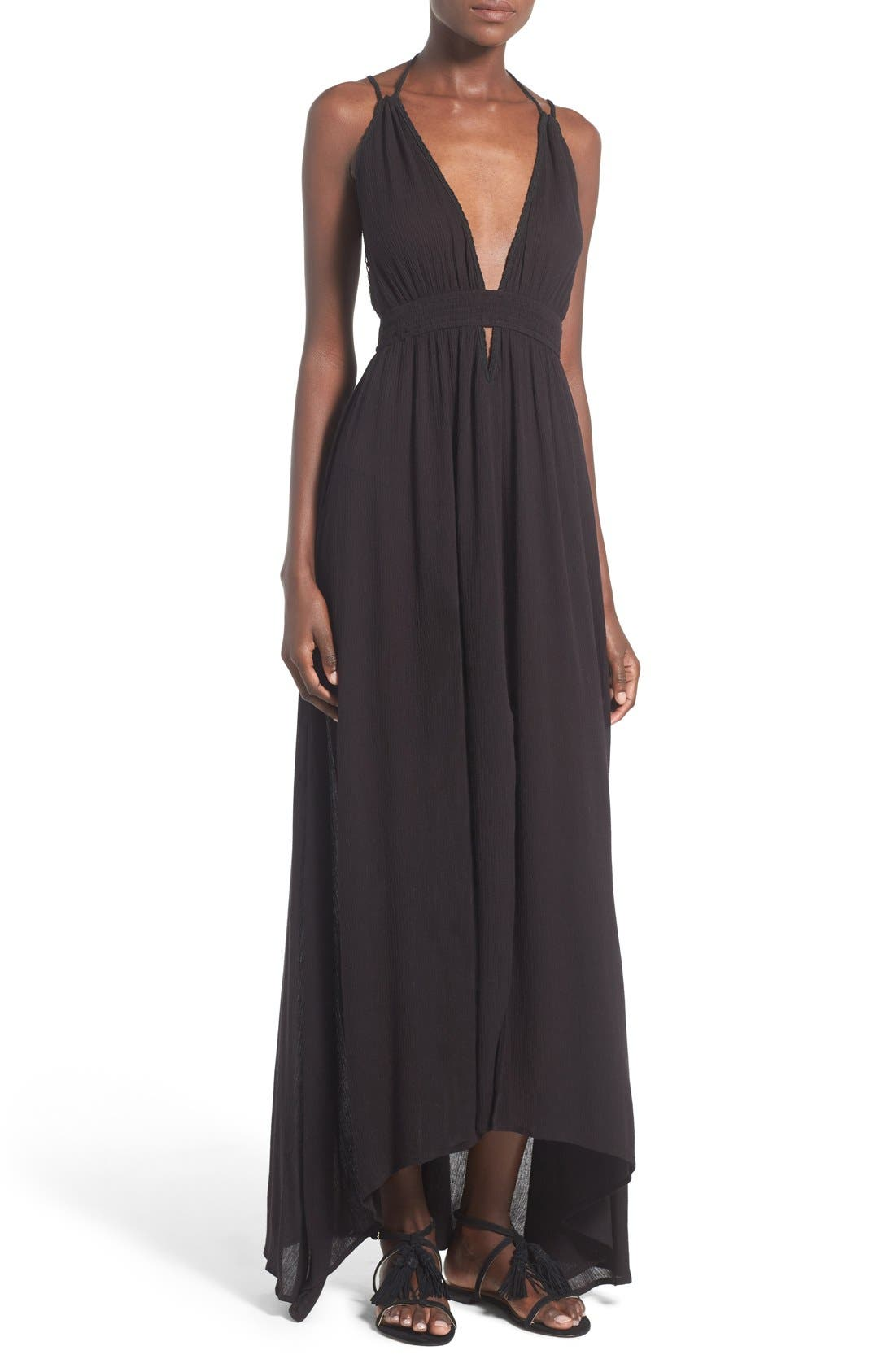 ,                             ASTR 'Belen' Maxi Dress,                             Main thumbnail 1, color,                             001