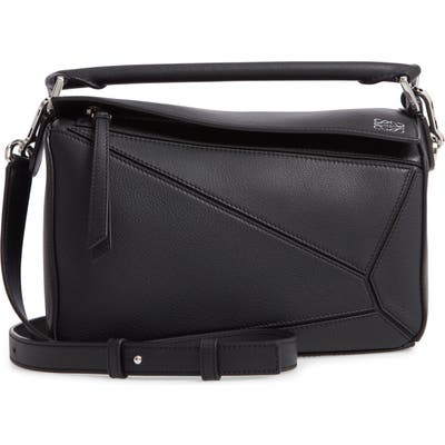 Loewe Puzzle Small Shoulder Bag - Black