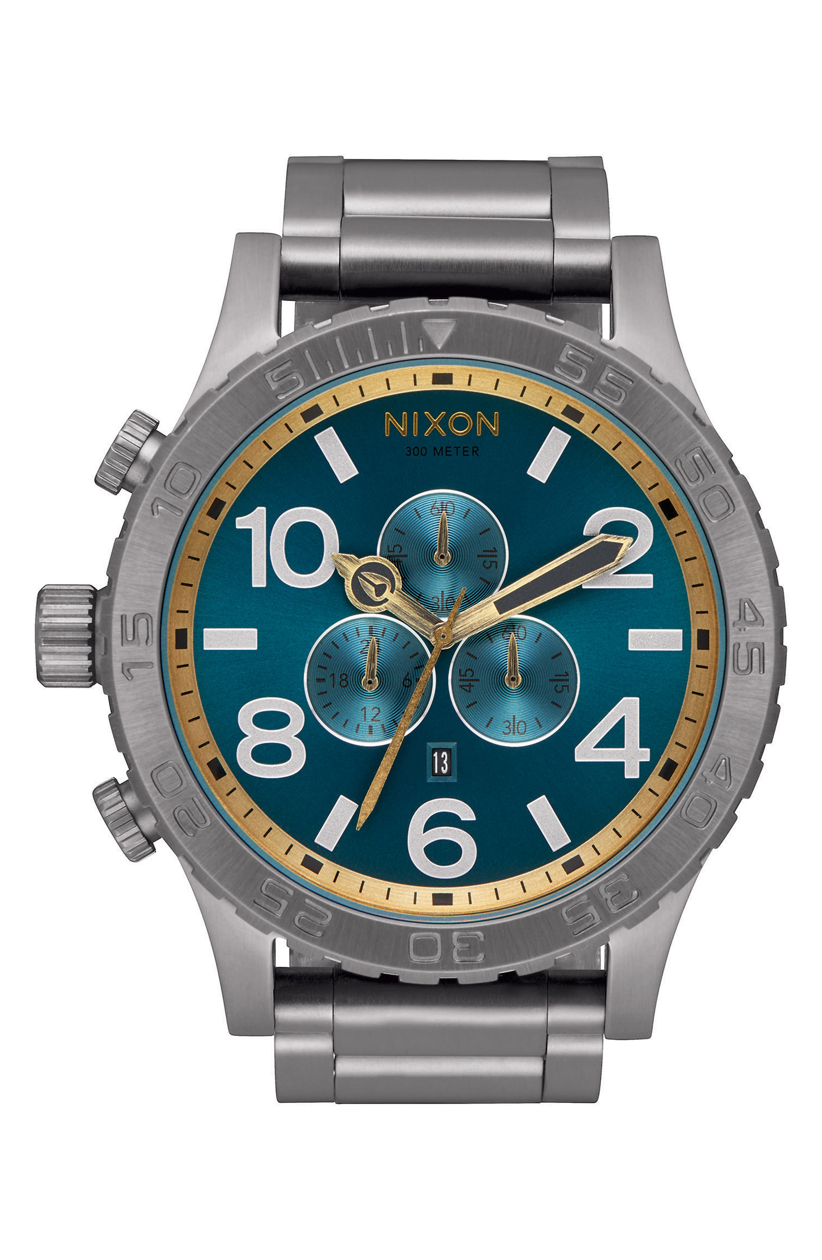 ,                             'The 51-30 Chrono' Watch, 51mm,                             Main thumbnail 28, color,                             044