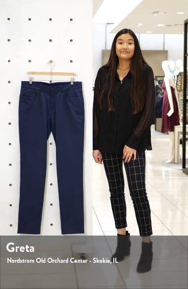 Double Weave Stretch Trousers, sales video thumbnail
