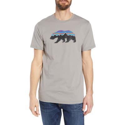 Patagonia Fitz Roy Bear Organic Cotton Crewneck T-Shirt