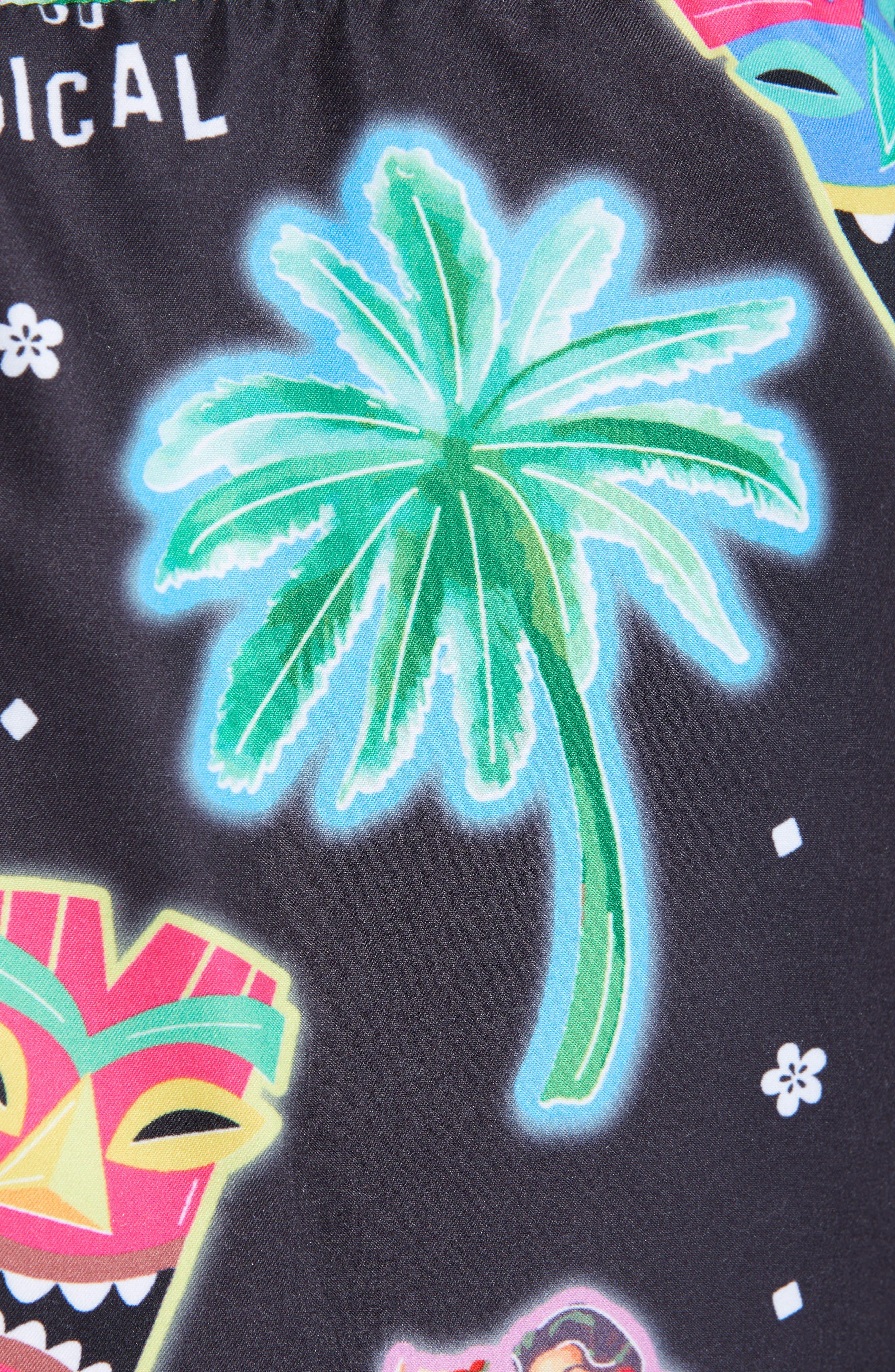 ,                             Tiki Tropical Swim Trunks,                             Alternate thumbnail 5, color,                             MULTI