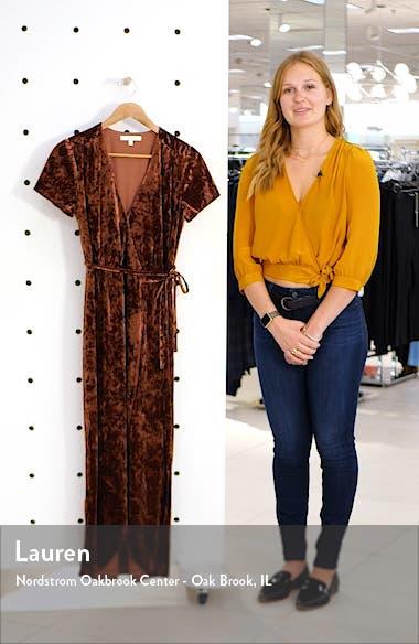 Next to You Velvet Wrap Dress, sales video thumbnail