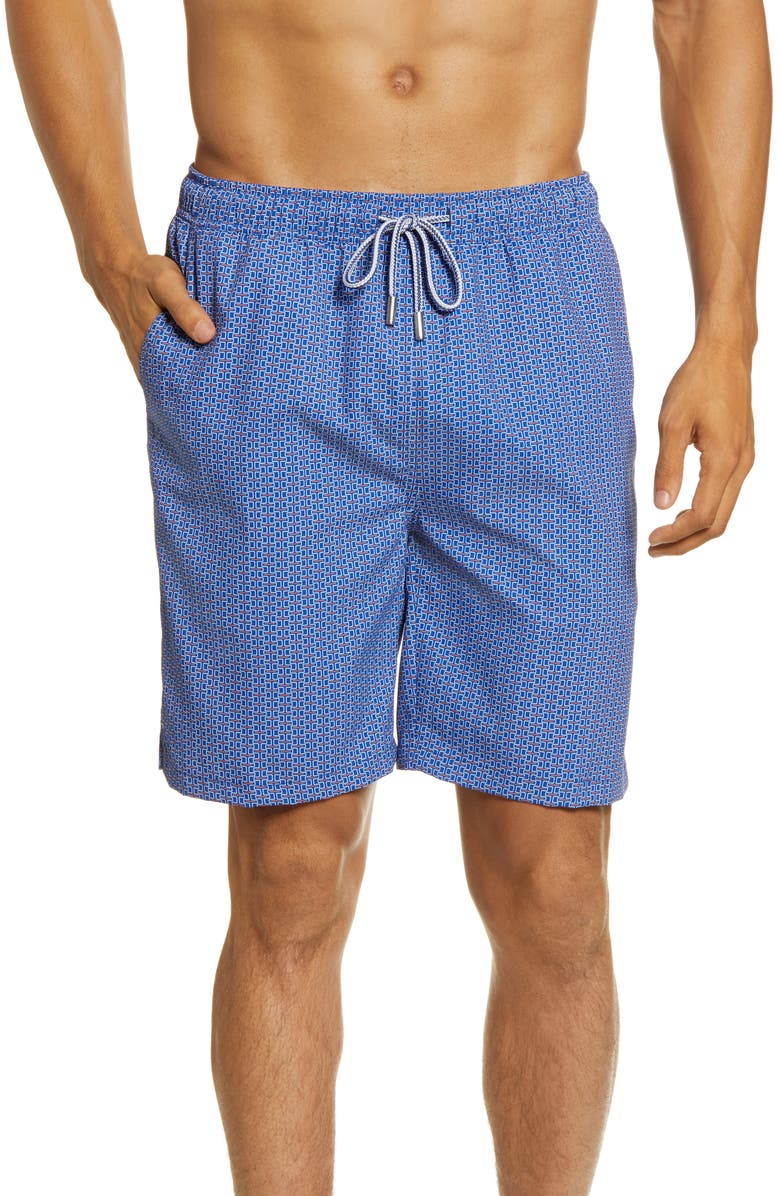 PETER MILLAR Low Tide Lattice Swim Trunks, Main, color, 410