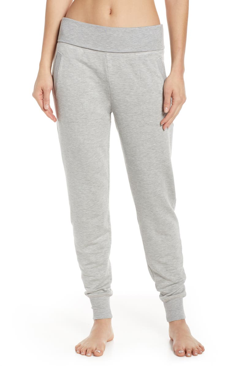 BEYOND YOGA Cozy Fleece Sweatpants, Main, color, 021