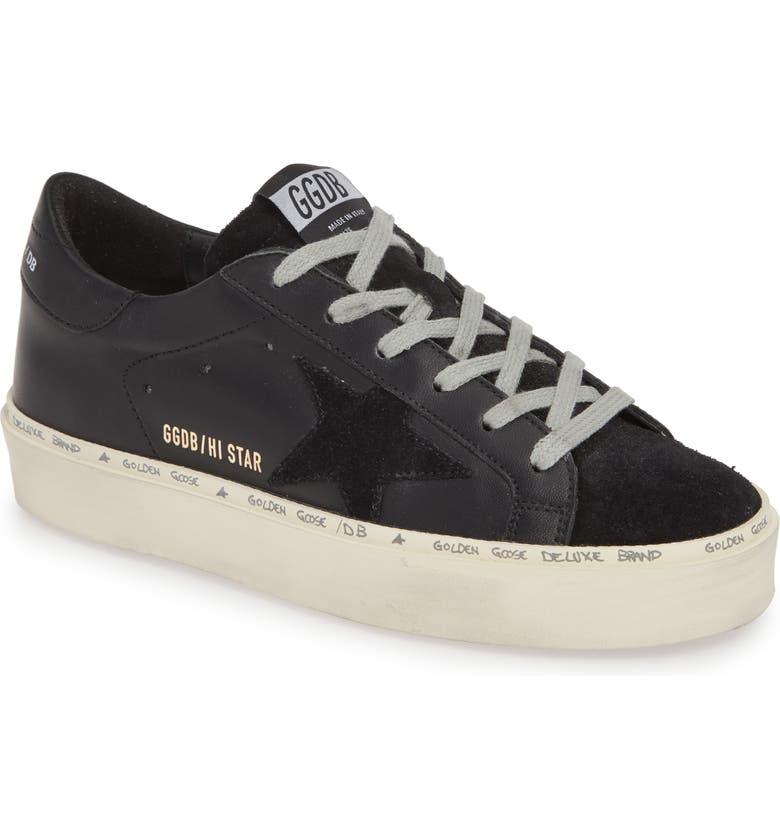 GOLDEN GOOSE Star Platform Sneaker, Main, color, 003