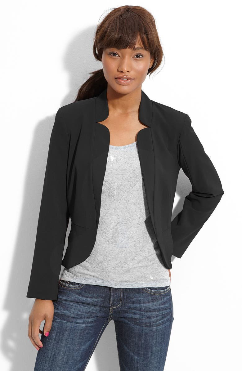 NECESSARY OBJECTS<SUP>™</SUP> Flat Collar Blazer, Main, color, 001