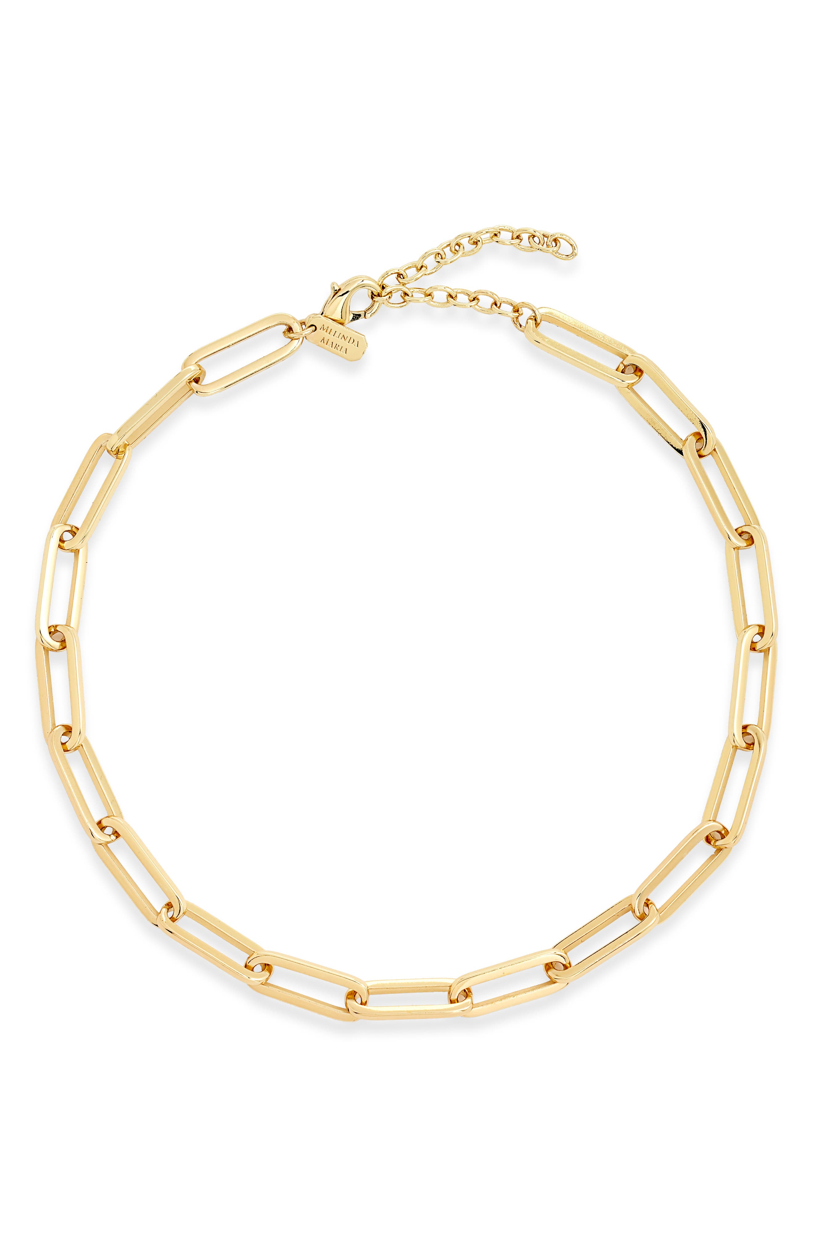 Carrie Chain Link Necklace