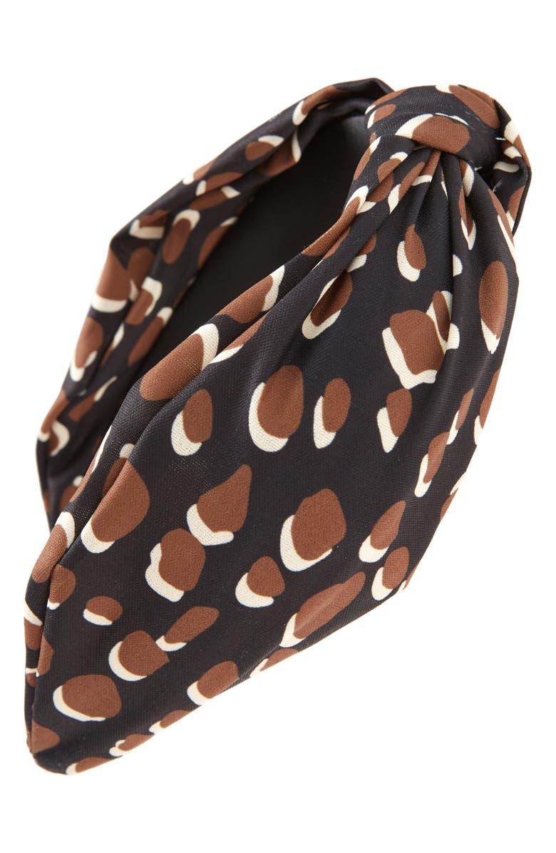 BP. Knotted Headband, Main, color, BLACK COMBO
