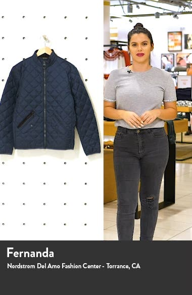Kensington Quilted Nylon Jacket, sales video thumbnail