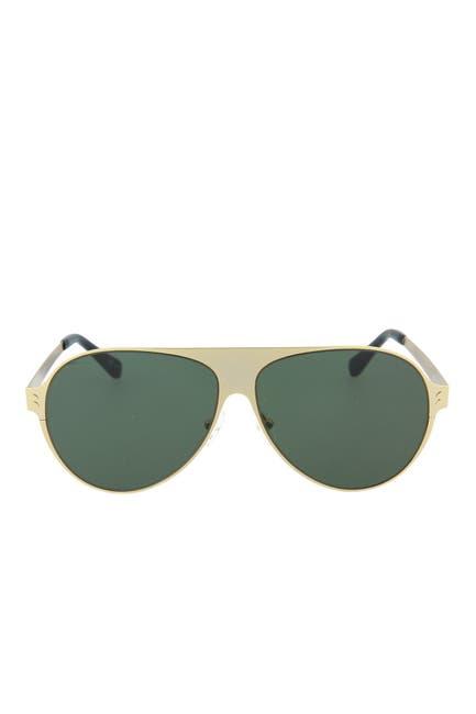 Image of Stella McCartney 59mm Metal Aviator Sunglasses