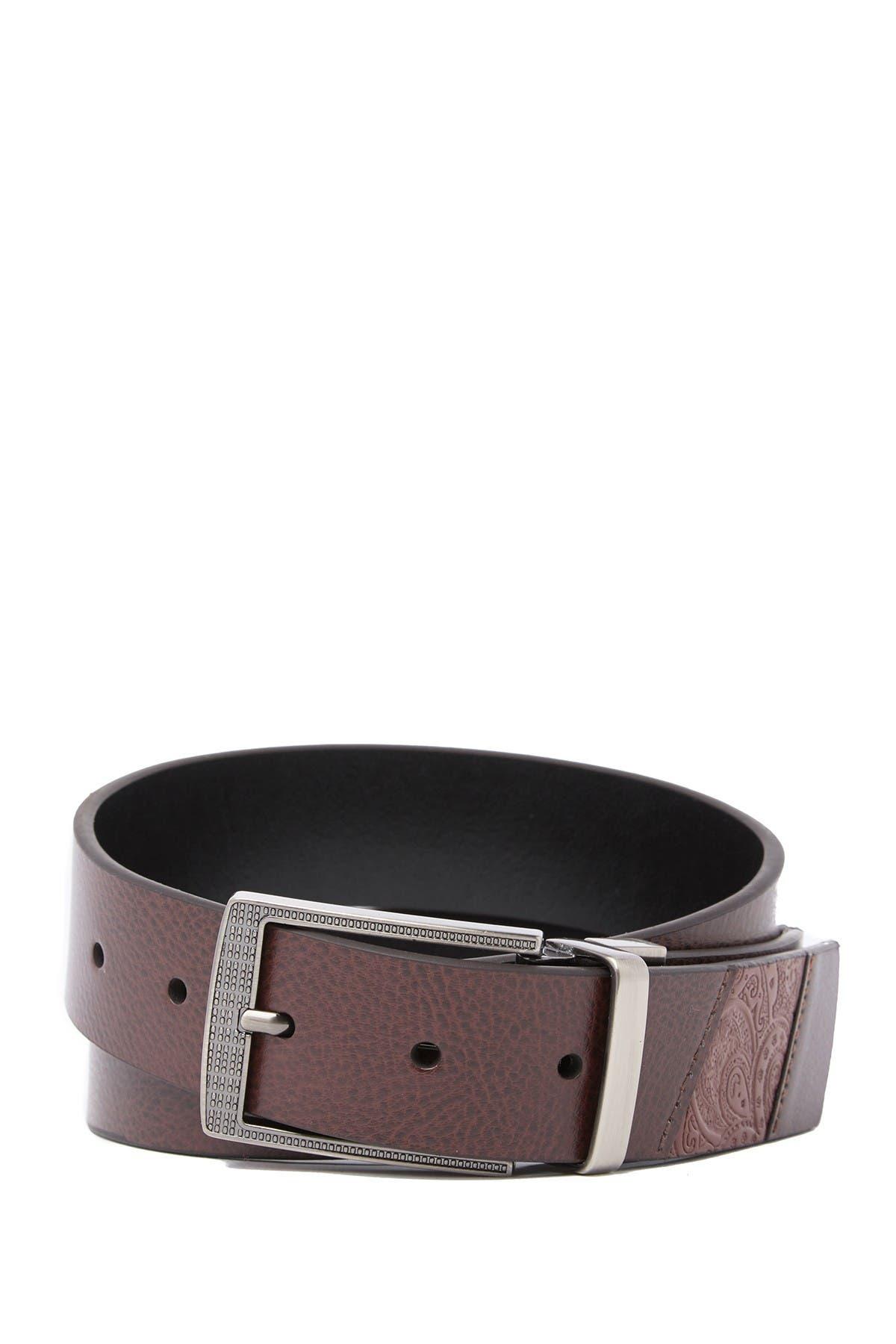 Image of Robert Graham Terdel Reversible Leather Belt