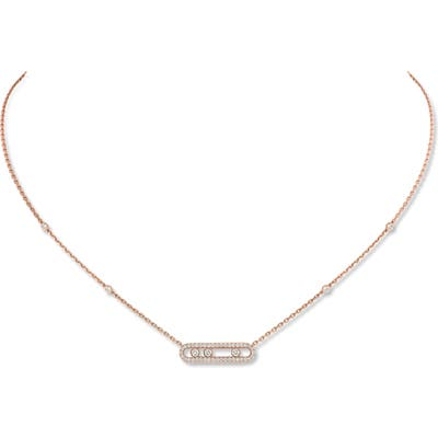 Messika Baby Move Pave Diamond Necklace