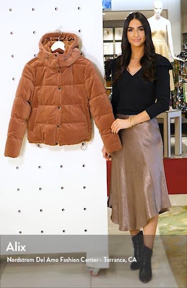Velvet Puffer Coat, sales video thumbnail