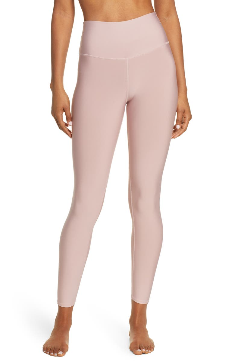ALO Airlift High Waist 7/8 Leggings, Main, color, PALE MAUVE