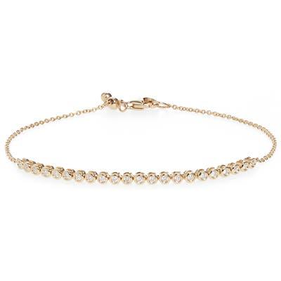Bony Levy Monaco Diamond Bezel Bracelet (Nordstrom Exclusive)