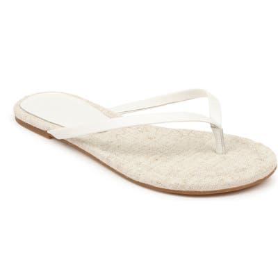 Splendid Ashlee Flip Flop, White
