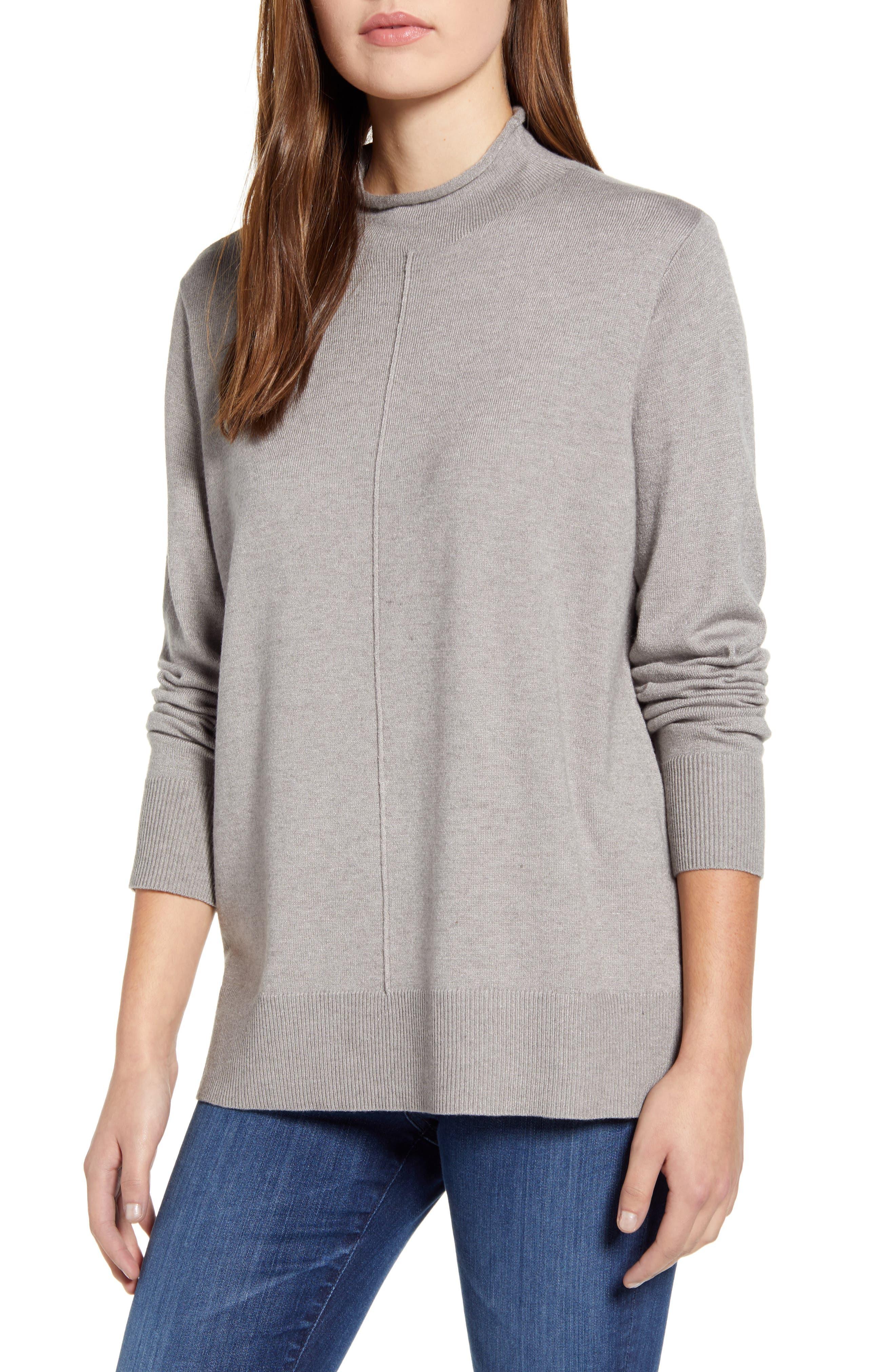 CENY Side Slit Sweater