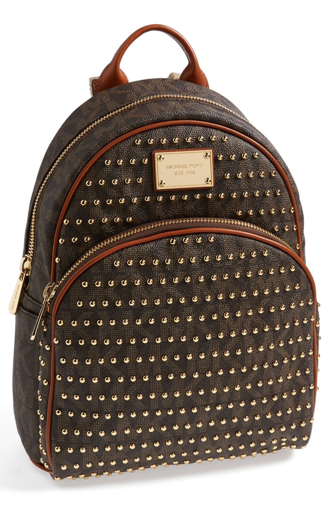,                             'Small' Studded Backpack,                             Main thumbnail 6, color,                             200