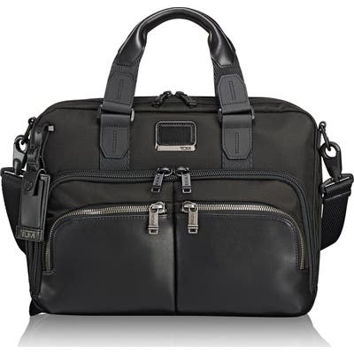 Tumi Alpha Bravo - Albany Slim Commuter Briefcase - Black