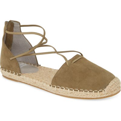 Eileen Fisher Lace Espadrille, Green