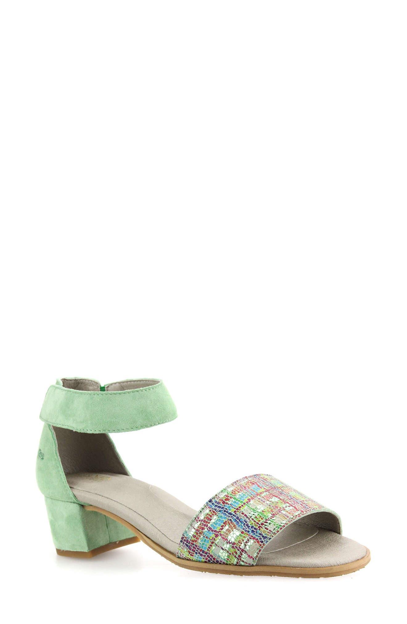 Kenzie Block Heel Sandal