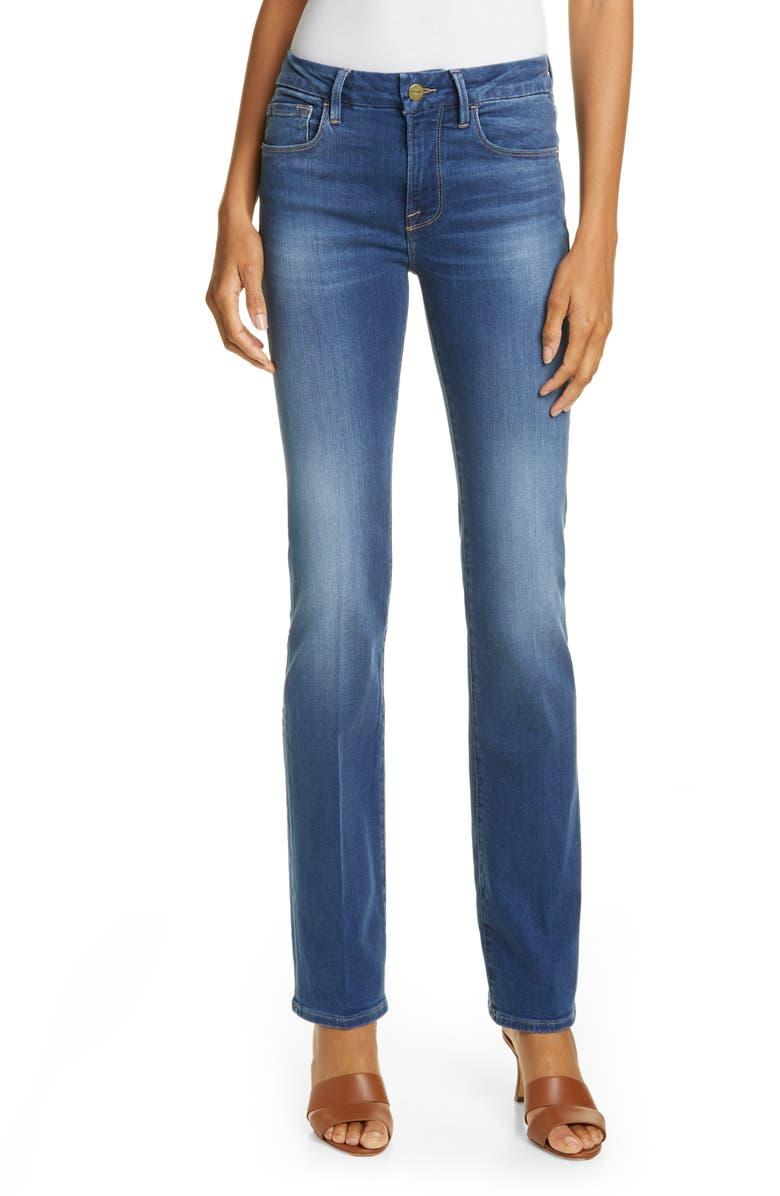 FRAME Le Mini Boot High Waist Jeans, Main, color, 421