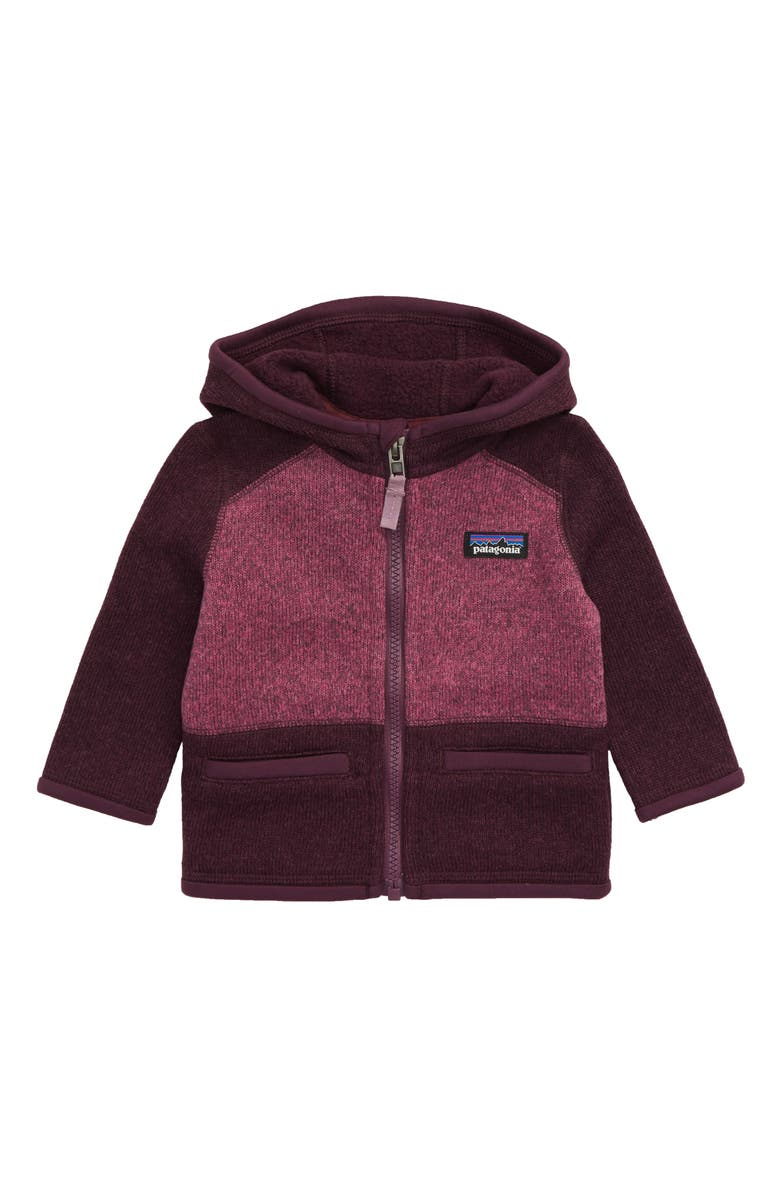 PATAGONIA Better Sweater<sup>®</sup> Recycled Fleece Hooded Jacket, Main, color, DPM DEEP PLUM