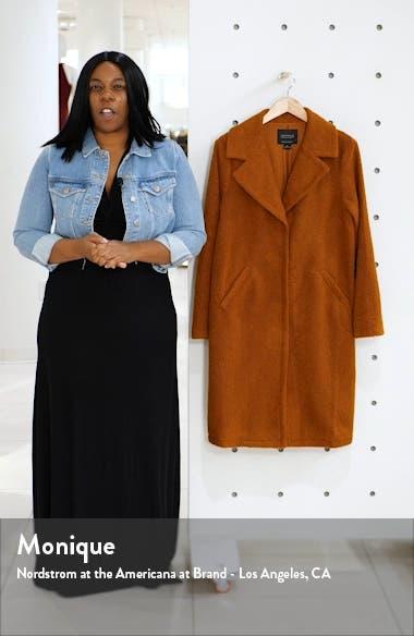 Go Long Faux Fur Teddy Coat, sales video thumbnail
