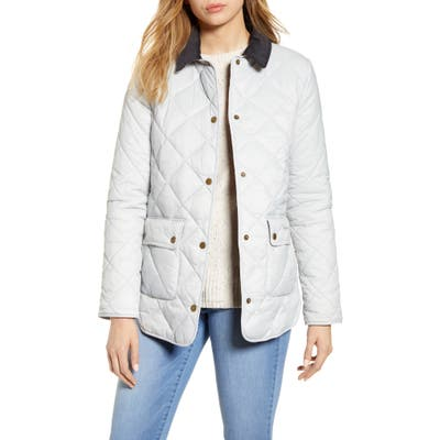 Barbour Oakland Quilted Jacket, US / 16 UK - White