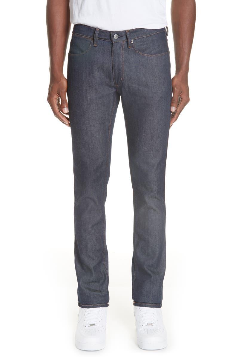 ACNE STUDIOS Max Slim Fit Jeans, Main, color, MAX INDIGO