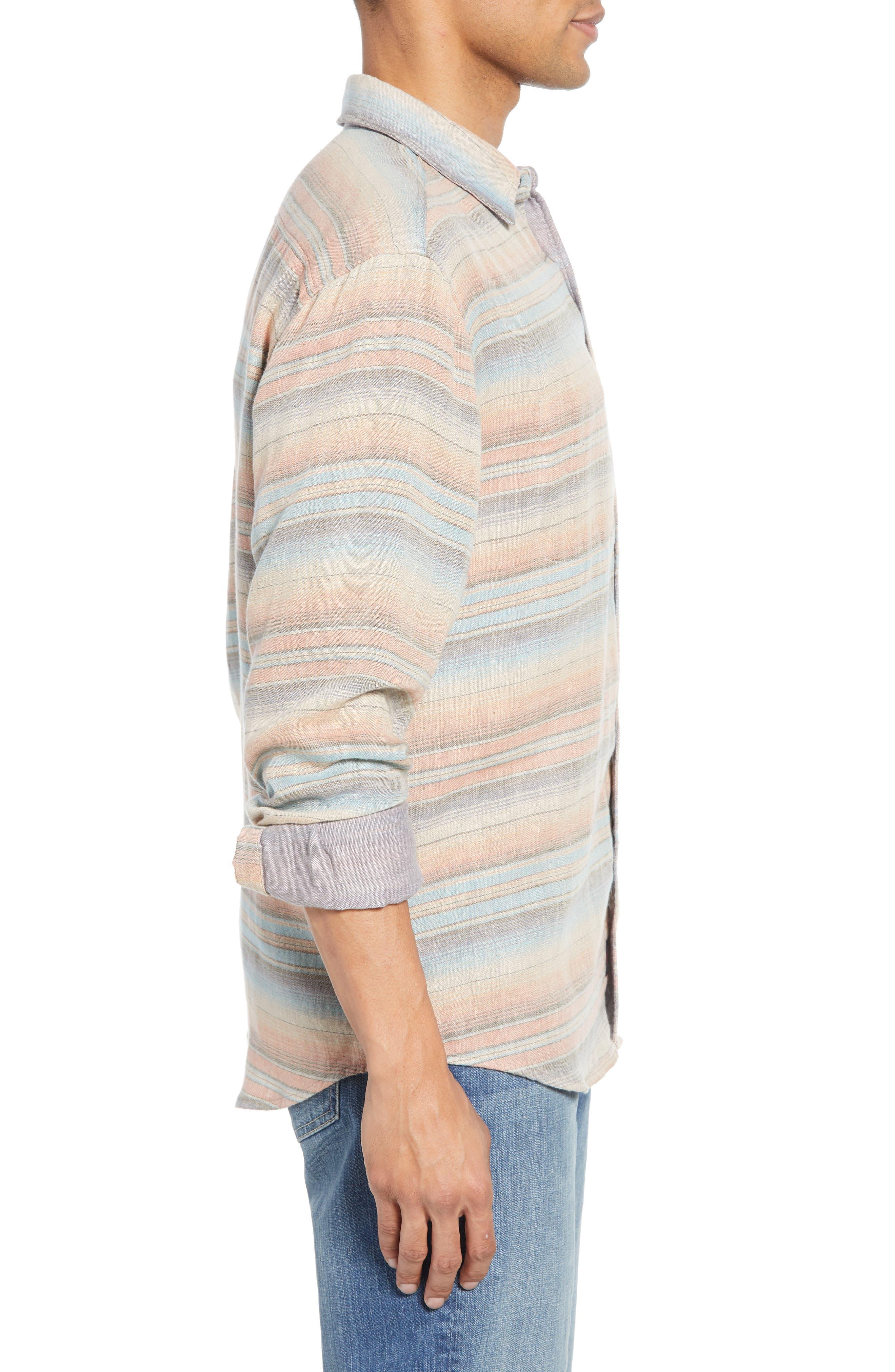 ,                             Belmar Regular Fit Reversible Shirt,                             Alternate thumbnail 5, color,                             EVENING PLAYA
