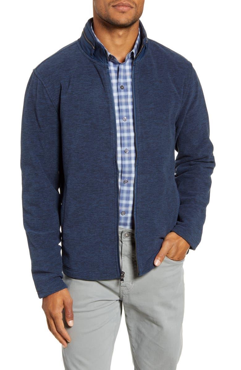 ZACHARY PRELL Crail Regular Fit Jacket, Main, color, MIDNIGHT