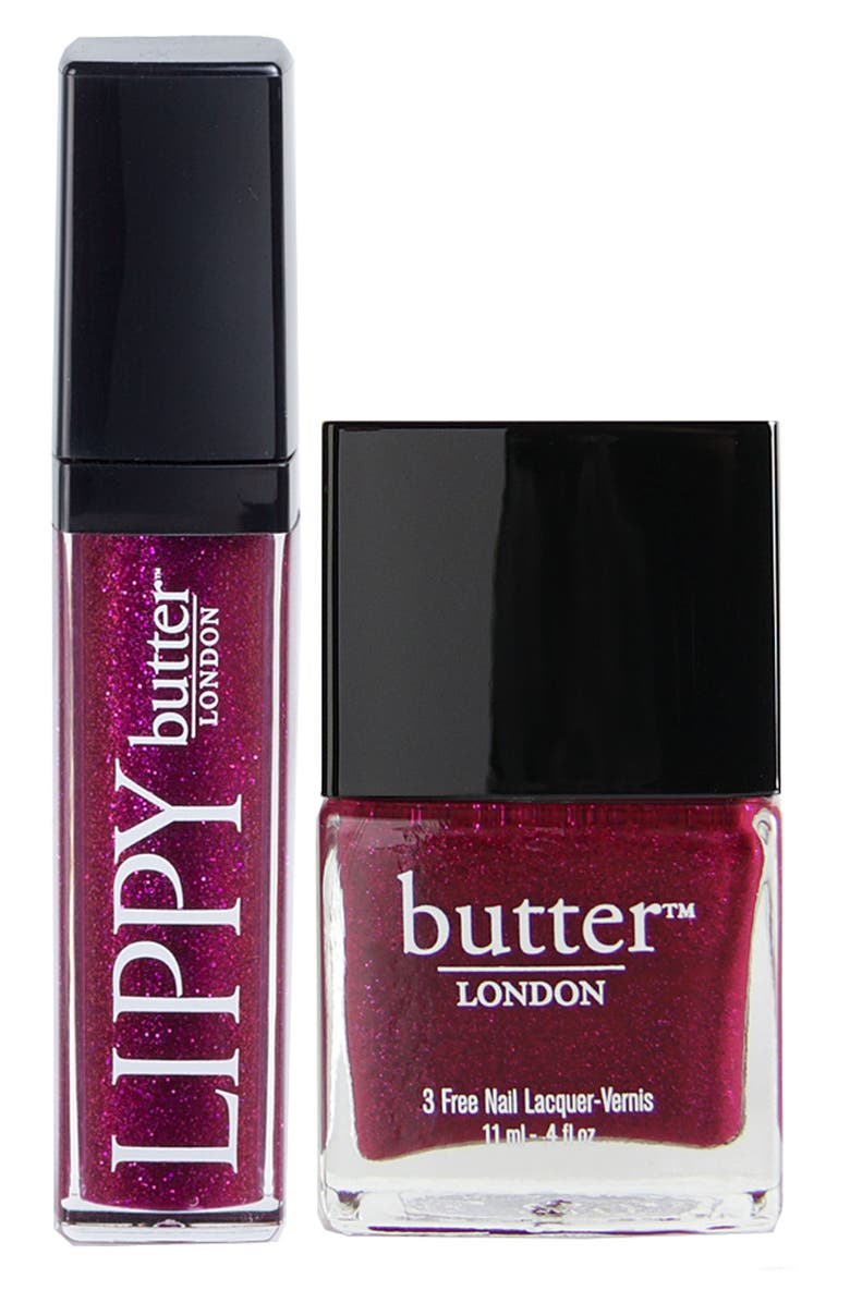 BUTTER LONDON 'Lips & Tips - Fiddlesticks' Duo, Main, color, 650