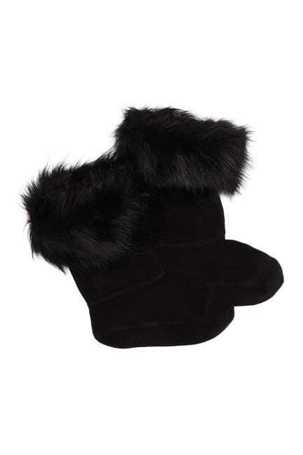 Image of Hunter Faux Fur Cuff Boot Sock